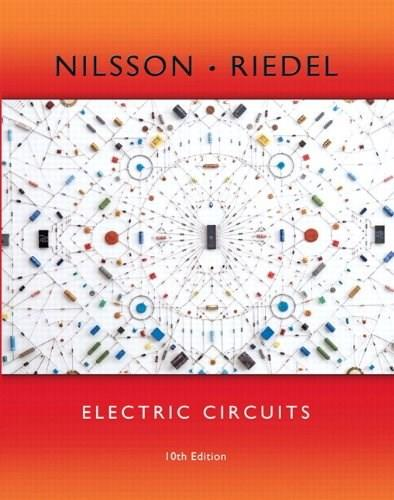Electric Circuits, by Nilsson, 10th Edition 10 PKG 9780133875904
