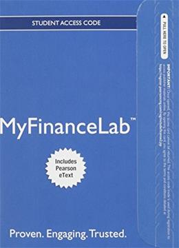 MyFinanceLab with Pearson eText for Personal Finance: Turning Money into Wealth, by Keown, 7th Edition, Access Code Only 7 PKG 9780133877724