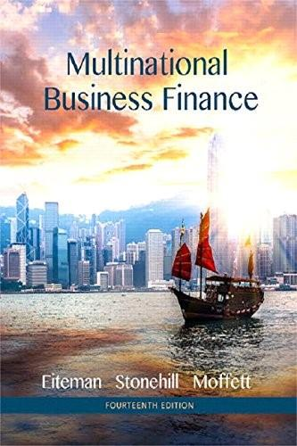 Multinational Business Finance (14th Edition) (Pearson Series in Finance) 9780133879872
