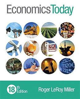 Economics Today (18th Edition) 9780133882285