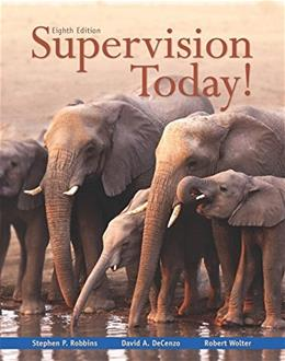 Supervision Today! (8th Edition) 9780133884869