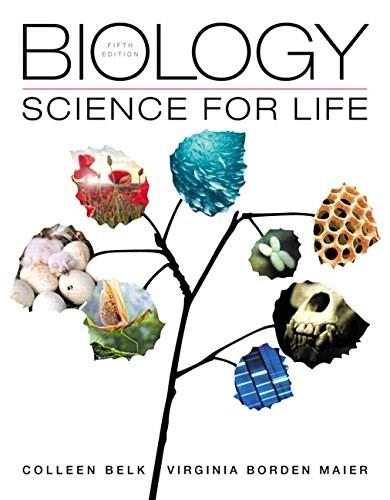 Biology: Science for Life plus Mastering Biology with eText -- Access Card Package (5th Edition) (Belk, Border & Maier, The Biology: Science for Life Series, 5th Edition) 5 PKG 9780133889208