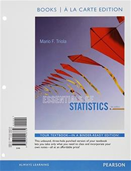 Essentials of Statistics Books a la carte Plus NEW MyLab Statistics  with Pearson eText -- Access Card Package (5th Edition) 5 PKG 9780133892697