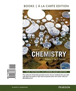 Chemistry, Books a la Carte Plus MasteringChemistry with eText -- Access Card Package (7th Edition) PKG 9780133900811