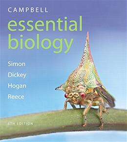 Campbell Essential Biology, by Simon, 6th Edition 6 PKG 9780133909708