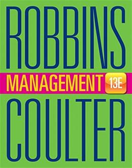 Management (13th Edition) 9780133910292