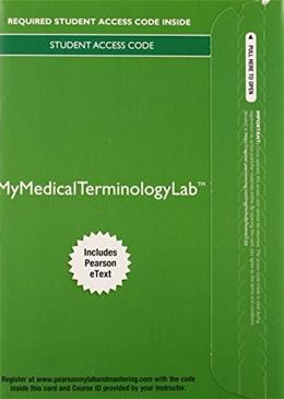 Medical Terminology A Living Language, by Frucht, 5th Edition 5 PKG 9780133936230