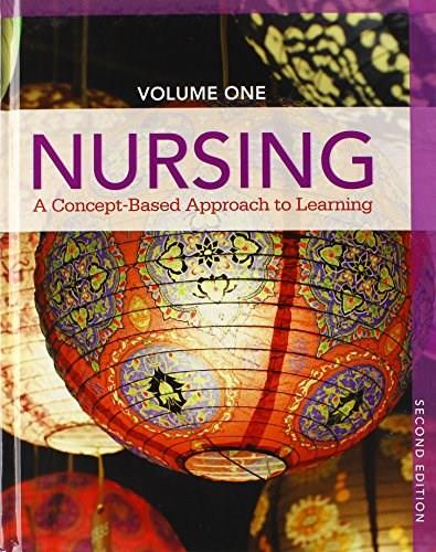 Nursing: A Concept-Based Approach to Learning, by Callahan, 2nd Edition, 3 Volume Set 2 PKG 9780133937367