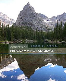 Concepts of Programming Languages (11th Edition) 11 PKG 9780133943023
