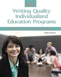 IEPs: Writing Quality Individualized Education Programs (3rd Edition) 9780133949520