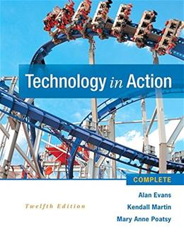 Technology In Action Complete (12th Edition) 9780133949568
