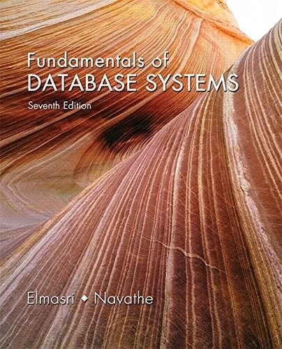 Fundamentals of Database Systems (7th Edition) 7 PKG 9780133970777