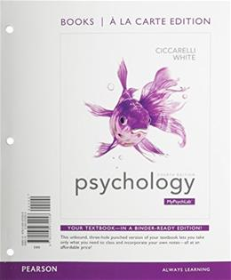 Psychology, Books a la Carte Edition & REVEL -- Access Card Package (4th Edition) 4 PKG 9780133979190