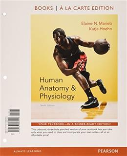 Human Anatomy & Physiology, Books a la Carte Edition 10 9780133997040