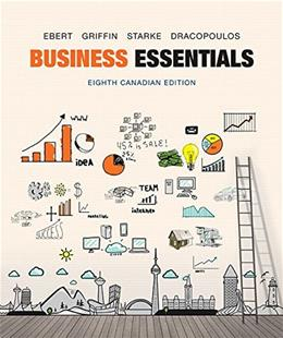 Business Essentials, Eighth Canadian Edition 8 9780134000091