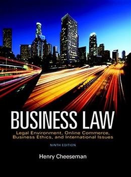 Business Law, Student Value Edition, (9th Edition) 9780134004778