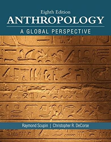 Anthropology (8th Edition) 9780134004860