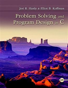 Problem Solving and Program Design in C (8th Edition) 8 PKG 9780134014890