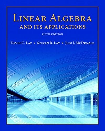Linear Algebra and Its Applications plus New MyLab Math with Pearson eText -- Access Card Package (5th Edition) (Featured Titles for Linear Algebra (Introductory)) 5 PKG 9780134022697