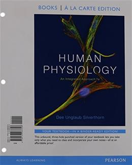 Human Physiology: An Integrated Approach, Books a la Carte Plus Mastering A&P with eText -- Access Card Package (7th Edition) 7 PKG 9780134047188