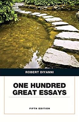 One Hundred Great Essays (5th Edition) 9780134053387