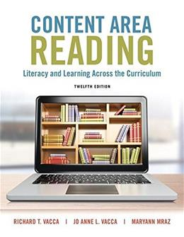 Content Area Reading: Literacy and Learning Across the Curriculum (Whats New in Literacy) 12 PKG 9780134068824