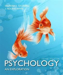 Psychology: An Exploration Plus MyLab Psychology  with Pearson eText -- Access Card Package (3rd Edition) (Ciccarelli & White Psychology Series) 3 PKG 9780134078793