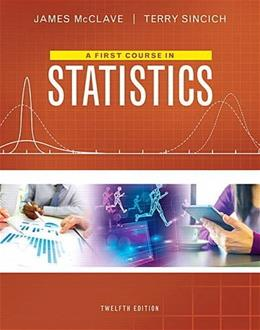 First Course in Statistics, A, 12 9780134080628