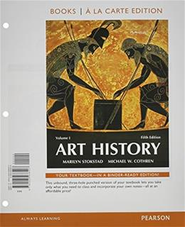 Art History Volume 1, Books a la Carte Edition plus REVEL for Art History -- Access Card Package (5th Edition) 5 PKG 9780134091051