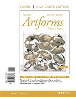 Prebles Artforms, by Frank, 11th Edition 11 PKG 9780134091075