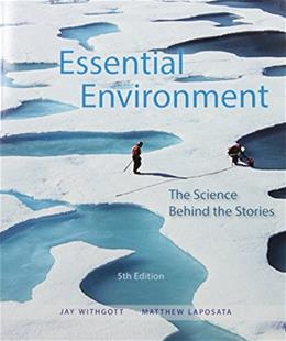 Essential Environment: The Science Behind the Stories 5 PKG 9780134096490