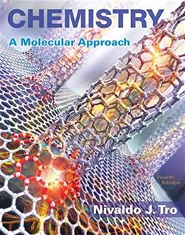 Chemistry: A Molecular Approach Plus MasteringChemistry with eText -- Access Card Package (4th Edition) (New Chemistry Titles from Niva Tro) 4 PKG 9780134103976
