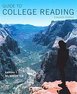 Guide to College Reading (11th Edition) 9780134111711