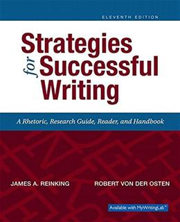 Strategies for Successful Writing 11 9780134119243