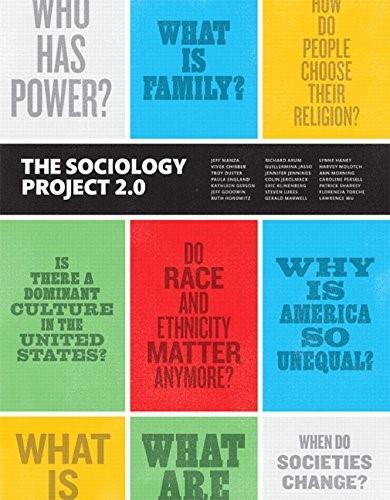 Sociology Project: Introducing the Sociological Imagination, The,  Plus NEW MySocLab for Introduction to Sociology --  Access Card Package (2nd Edition) 9780134127033