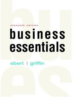 Business Essentials 11 9780134129969