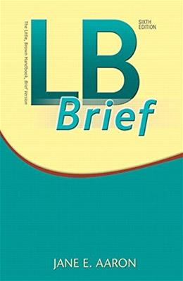 LB Brief with Tabs Plus, by Aaron, 6th Edition 6 PKG 9780134140186