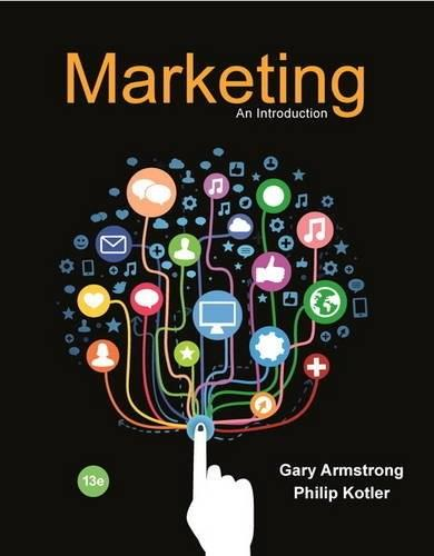 Marketing: An Introduction, by Armstrong,13th Edition 9780134149530