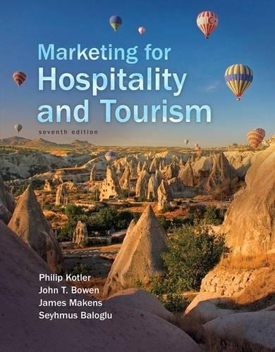Marketing for Hospitality and Tourism (7th Edition) 9780134151922