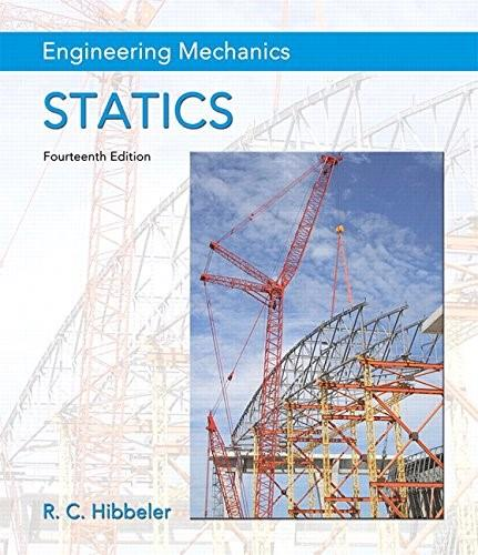 Engineering Mechanics: Statics Plus Mastering Engineering with Pearson eText -- Access Card Package (14th Edition) (Hibbeler, The Engineering Mechanics: Statics & Dynamics Series, 14th Edition) 14 PKG 9780134160689