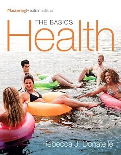 Health: The Basics, The MasteringHealth Edition Plus MasteringHealth with eText -- Access Card Package (12th Edition) 9780134161006