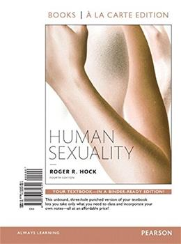 Human Sexuality, Books a la Carte Edition Plus REVEL -- Access Card Package (4th Edition) 4 PKG 9780134174051