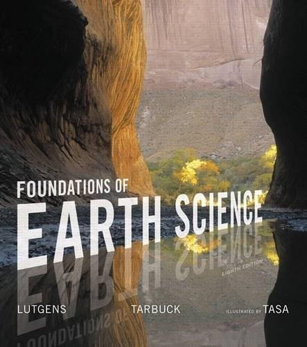 Foundations of Earth Science 8 9780134184814