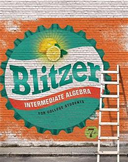 Intermediate Algebra for College Students Access Card Package (7th Edition) (Blitzer Developmental Algebra Series) 9780134189017