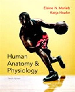 Human Anatomy and Physiology, by Marieb, 10th Books a la Carte Edition 10 PKG 9780134191294