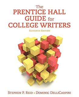 Prentice Hall Guide for College Writers, The,  Plus MyWritingLab -- Access Card Package (11th Edition) 11 PKG 9780134216577