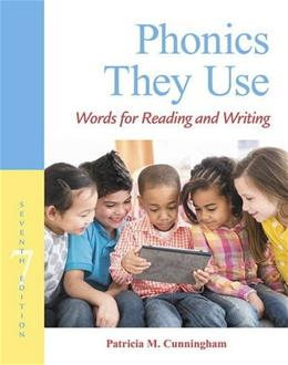 Phonics They Use: Words for Reading and Writing (Making Words Series) 7 9780134255187