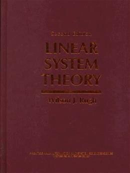Linear System Theory, by Rugh 2 9780134412054