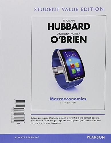 Macroeconomics, Student Value Edition Plus MyEconLab with Pearson eText -- Access Card Package (6th Edition) 9780134439839