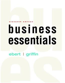 Business Essentials Plus MyBizLab with Pearson eText -- Access Card Package (11th Edition) 9780134473635